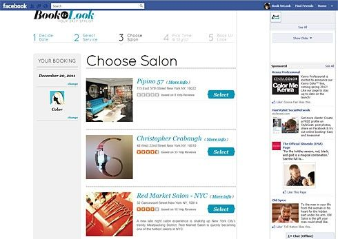 Putting Salons at the Clients' Fingertips