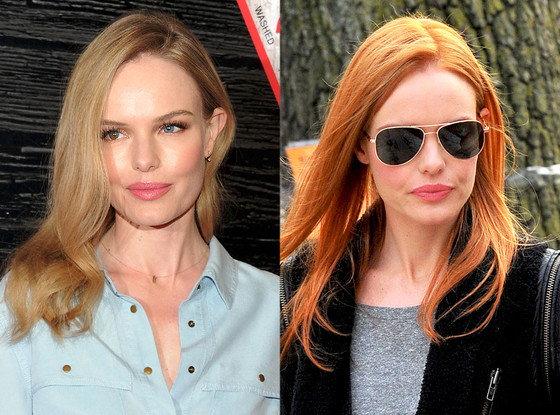 Getting The Red Right: Kate Bosworth For