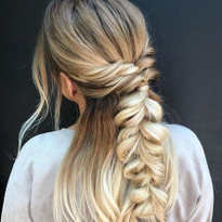 How to Use Extensions to Bulk Up Braids