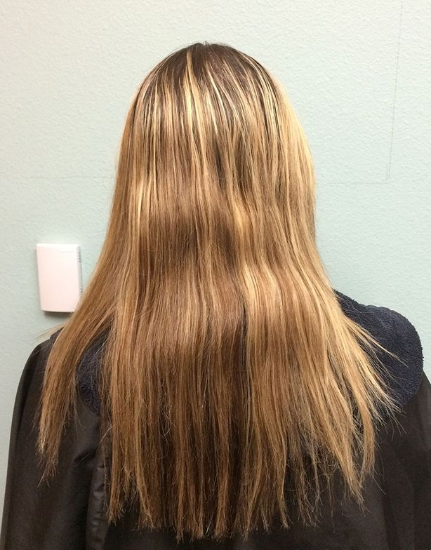 BEFORE (back of head)