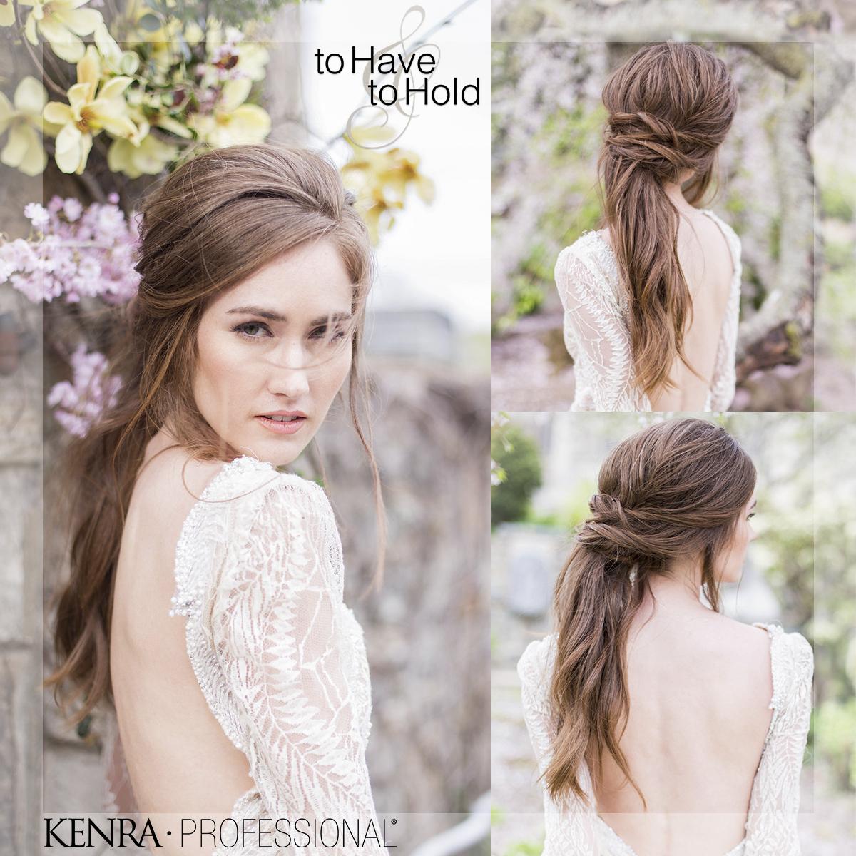 GET THE LOOK: Effortless Bridal Ponytail