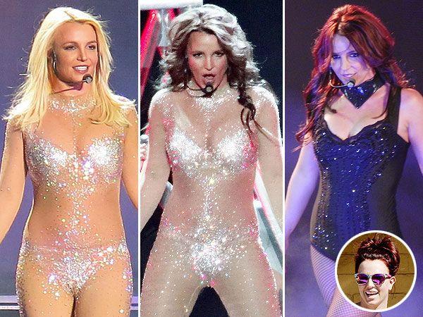 Britney Spears Trades in Brunette Hair for Auburn Reverse Ombre