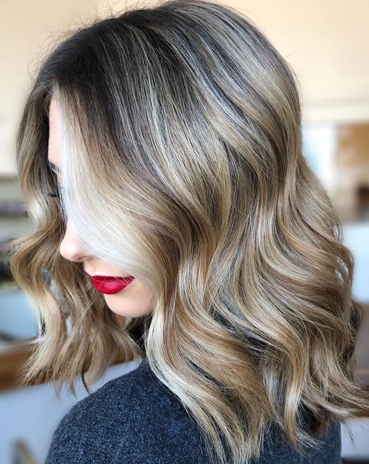 Shades EQ helped @hairmeroar create this high-contrast look.