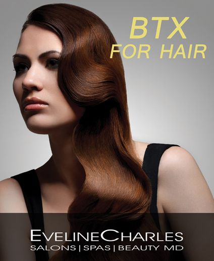 Service Spotlight: BTX for Hair at EvelineCharles Salons