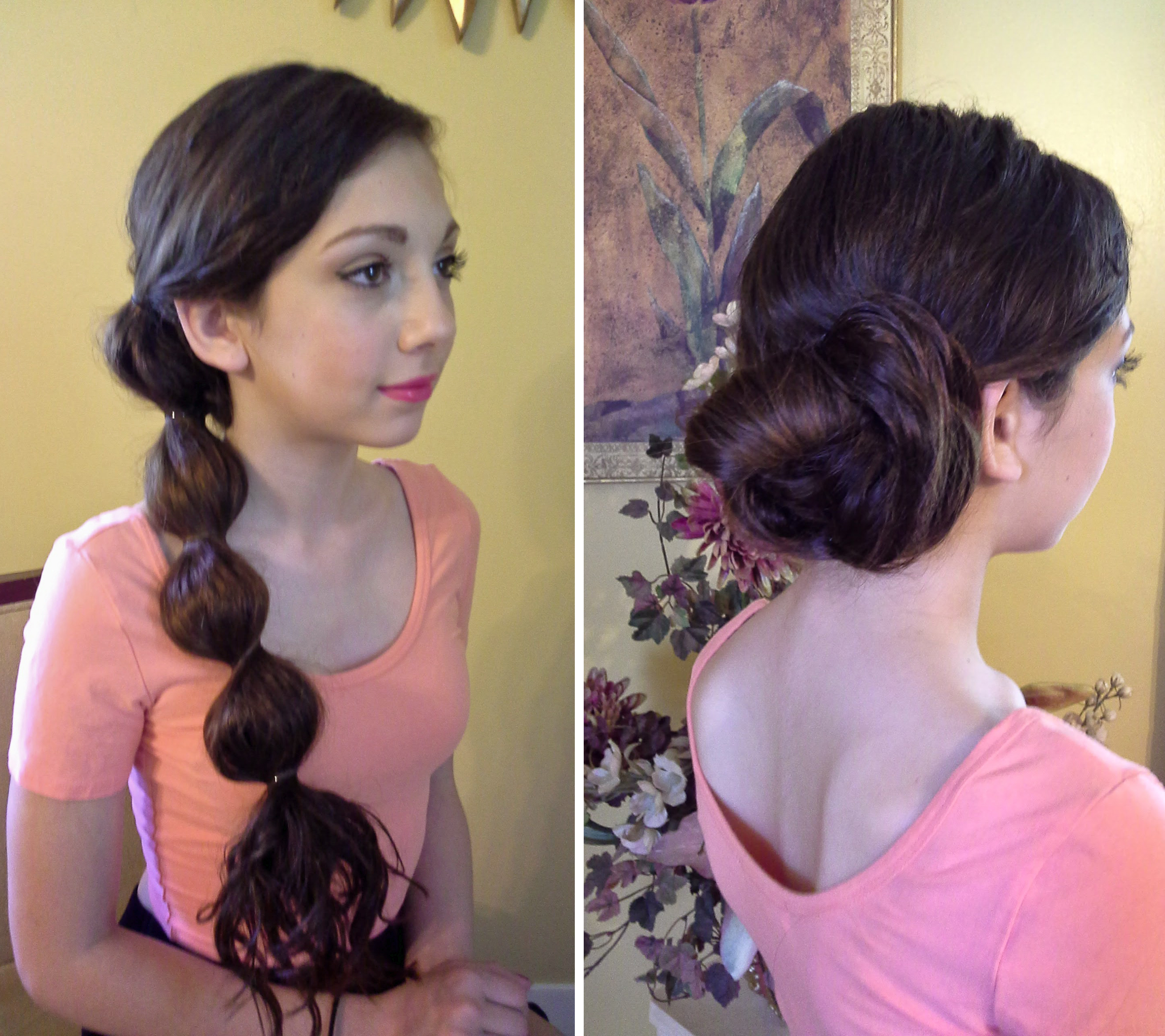 How-To: Day-to-Night Bubble Pony Chignon