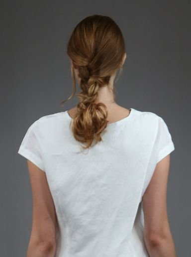 "HOW-TO: The Tousled ""Bungee"" Braid"