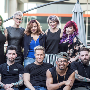 Some of the members of Butterfly Circus.Back Row: Jenny Strebe (@theconfessionsofahairstylist),...
