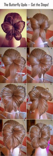 HOW-TO: The Braided Butterfly Updo -- Photo Steps Included!