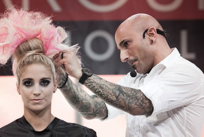 Rocky Vitelli, Global Board Editorial Stylist Specialist and 3 Time Canadian Hairstylist of the Year