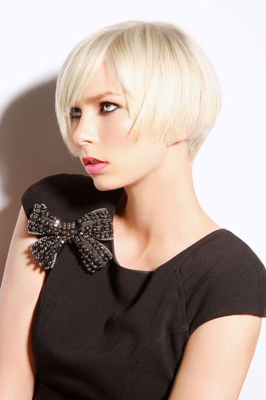 Codner is a master of the French technique and her latest Prism collection features traditional square French haircut lines and bold balayage color applications.
