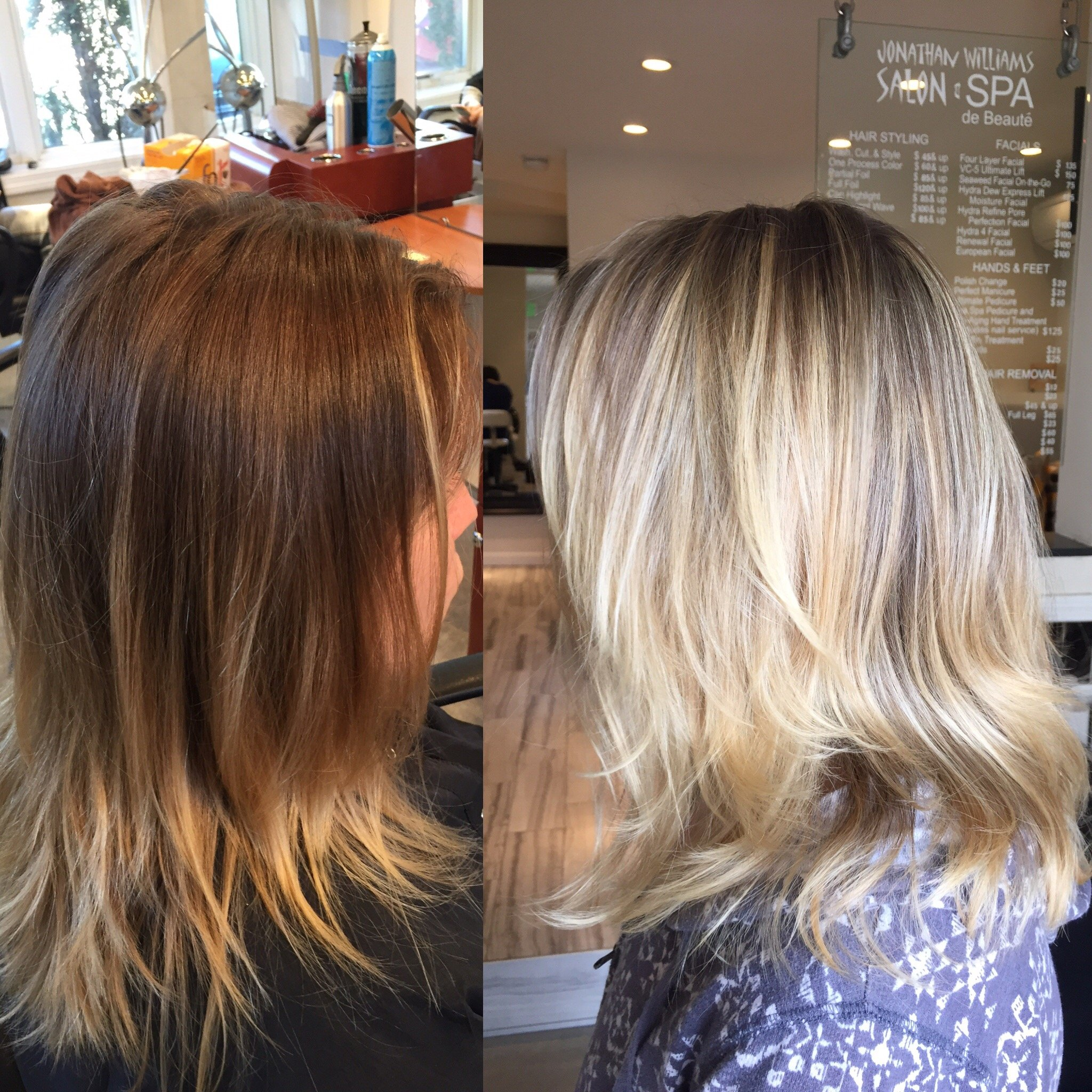 Foiling Lives: Grown Out To Brilliant Blonde