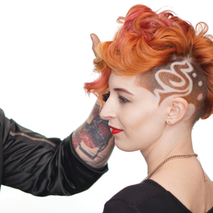 Graphic Tease: Creating Design Effects in Hair Cuts for Men and Women