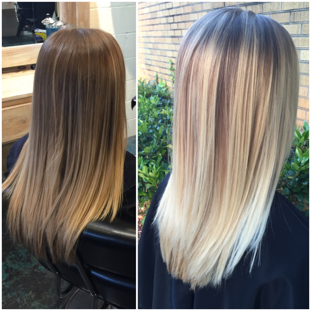 Brightening up to Pearl Blonde
