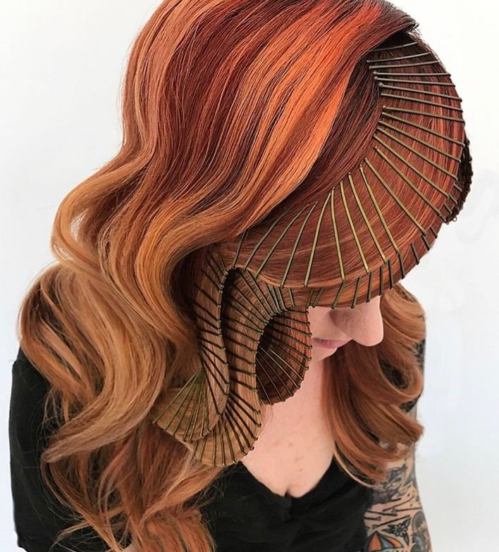 Casey Powell, the @updoguru, shares her signature technique on hair that's down but certainly dressed up!