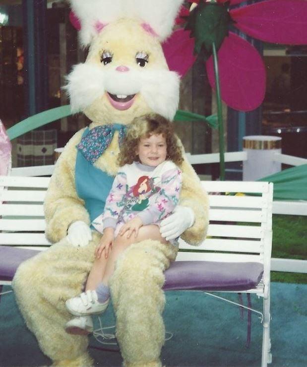Cassandra Messmer as a toddler.