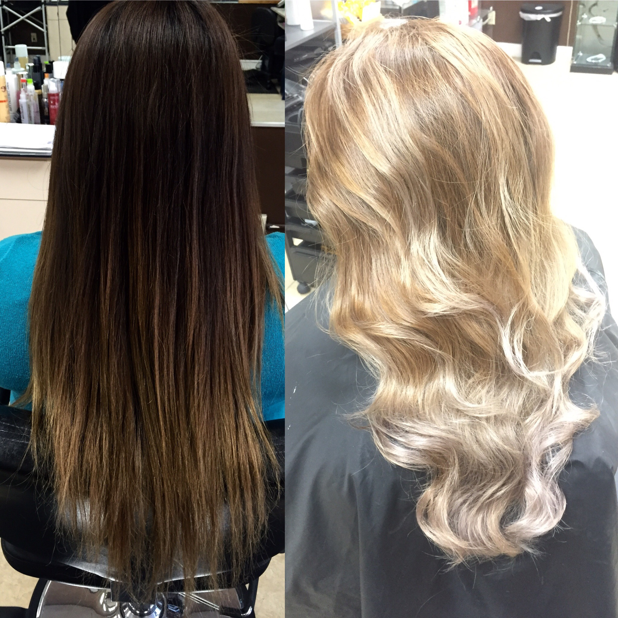 TRANSFORMATION: Faded Sombre To Sunny Blonde