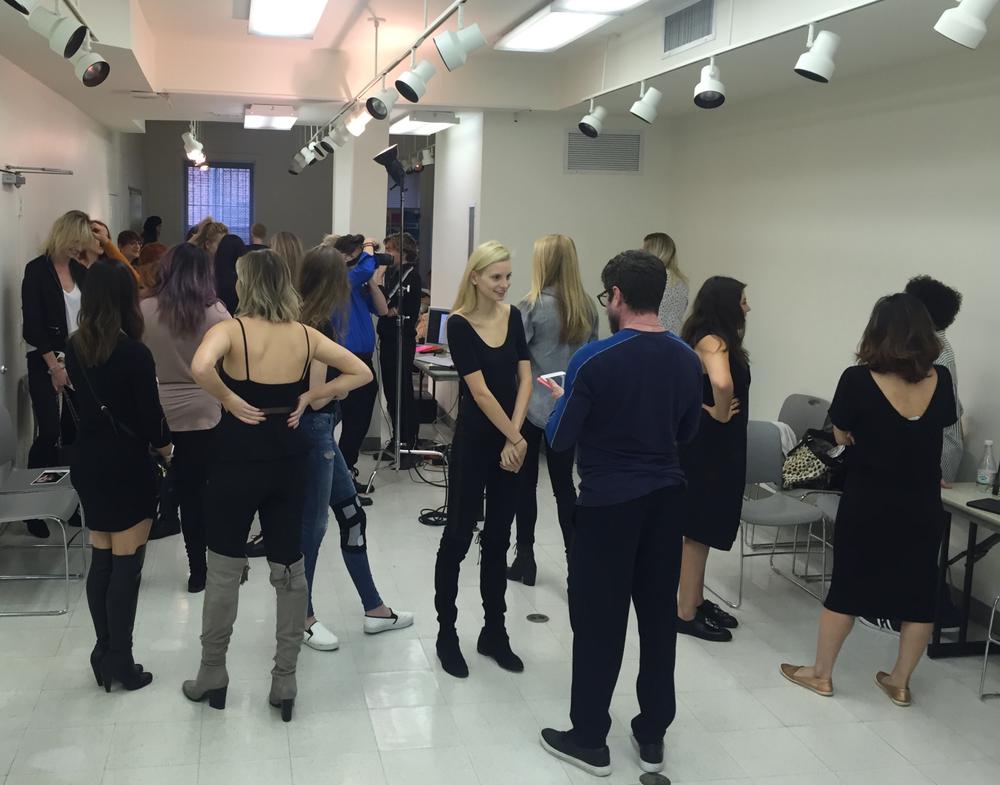 The casting. 90 models showed up!