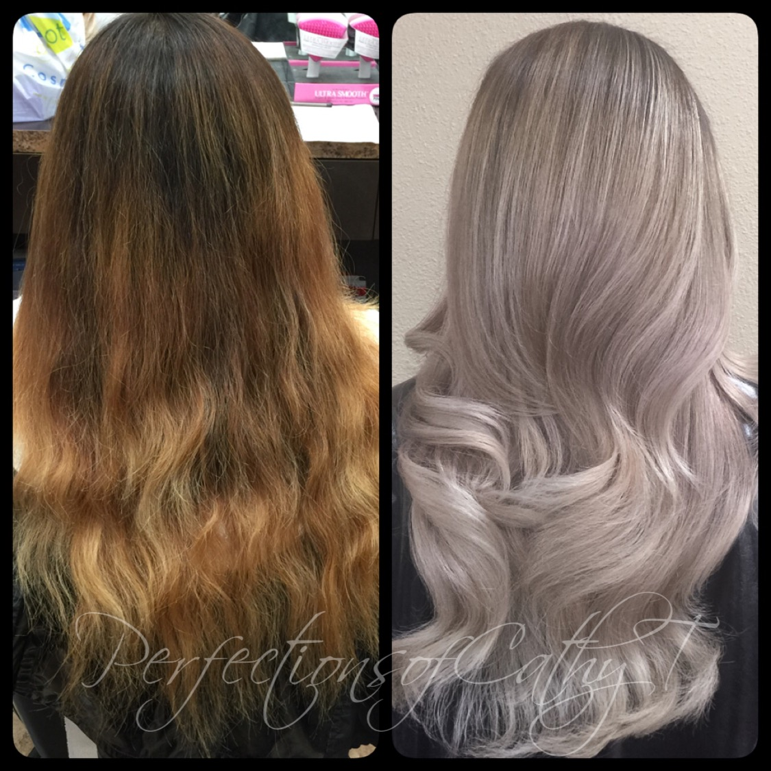 Old Blonde To New Ash