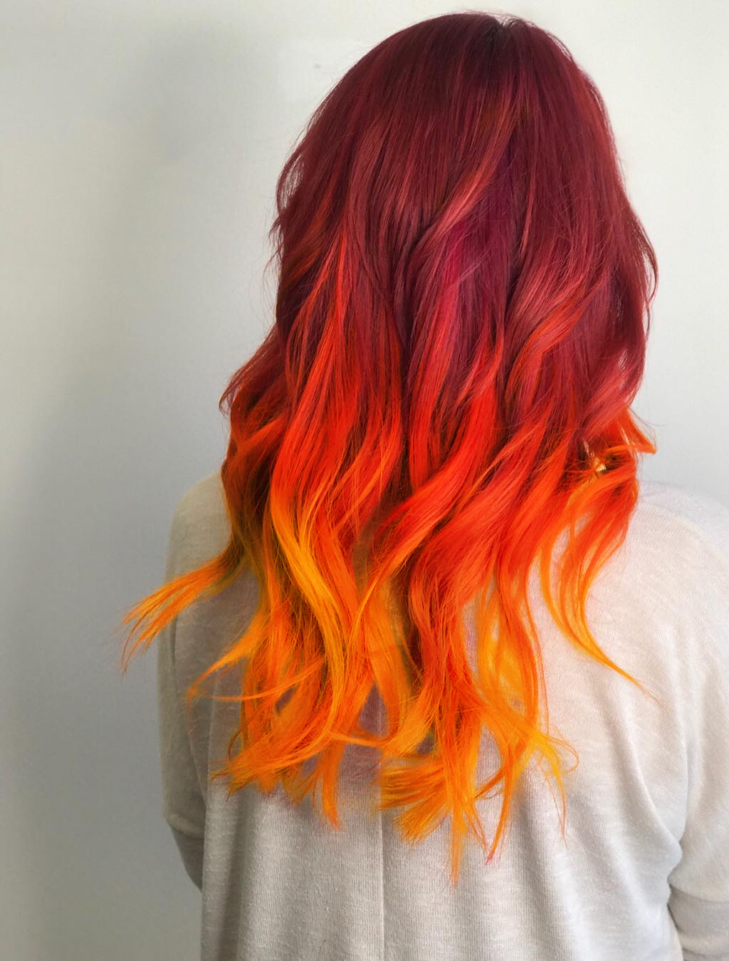 This hair is FIRE!