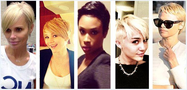 Hair Making Headlines: Celebs Go Short!