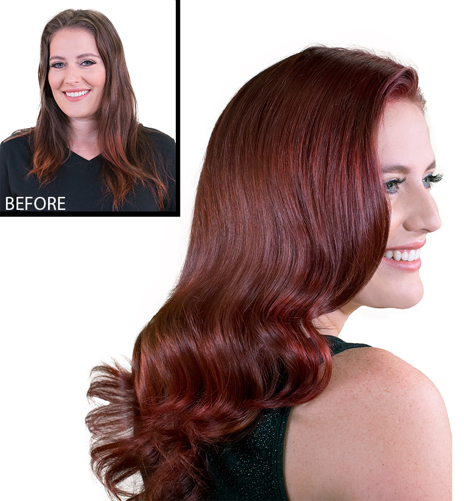 Add on Service Idea: Color Touch-up With Color Depositing Conditioner