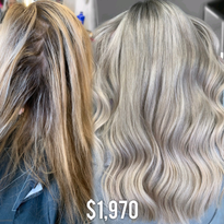 The $1970 makeover by Chrissy Danielle (@hairbychrissydanielle)
