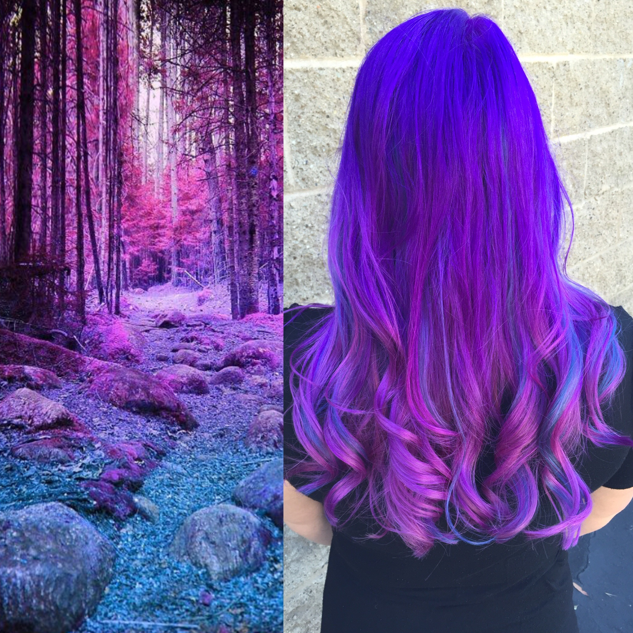 Inspired Purple Color Melt