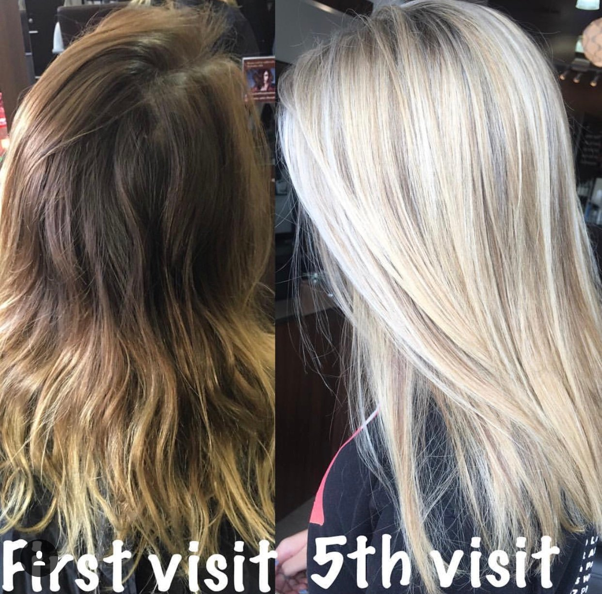 Brassy to Blonde in 5 Sessions