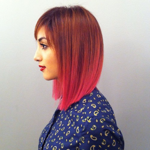 Pretty Copper To Pink Sombre