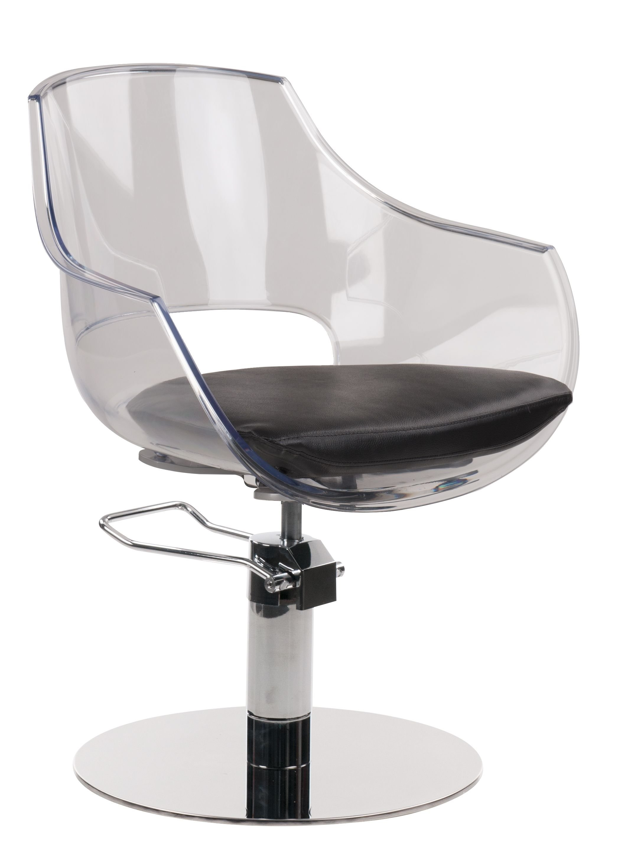 The Ghost Styling Chair by Salon Interiors Inc.