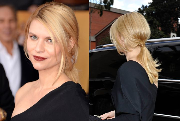 HOW-TO: Claire Danes' Suave Ponytail at SAG Awards
