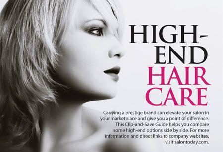 High-End Hair Care Guide