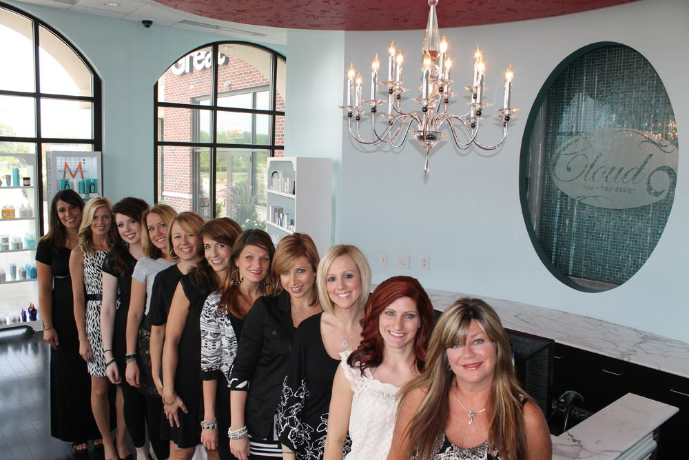 Staff of Cloud 9 Spa-Hair Design in Noblesville, Indiana