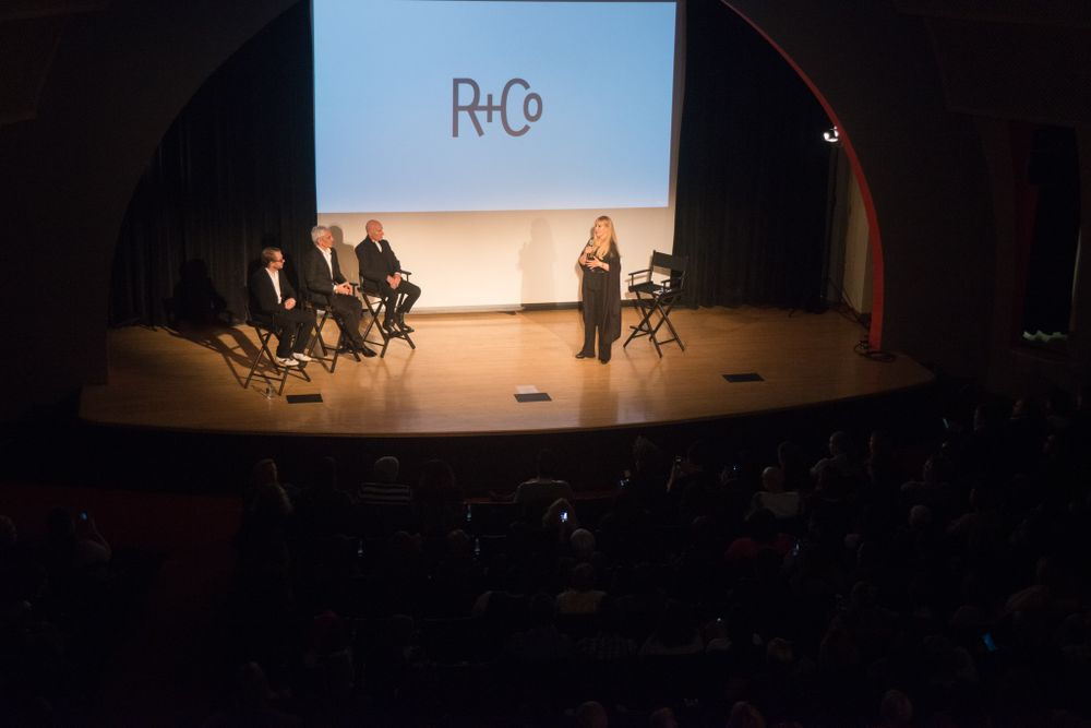 A highlight of the tour is the Q & A segment featuring the R+Co collective Howard McLaren, Thom Priano and Garren