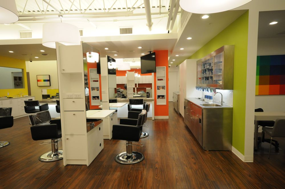 Jean Paul Salon and Spa color stations