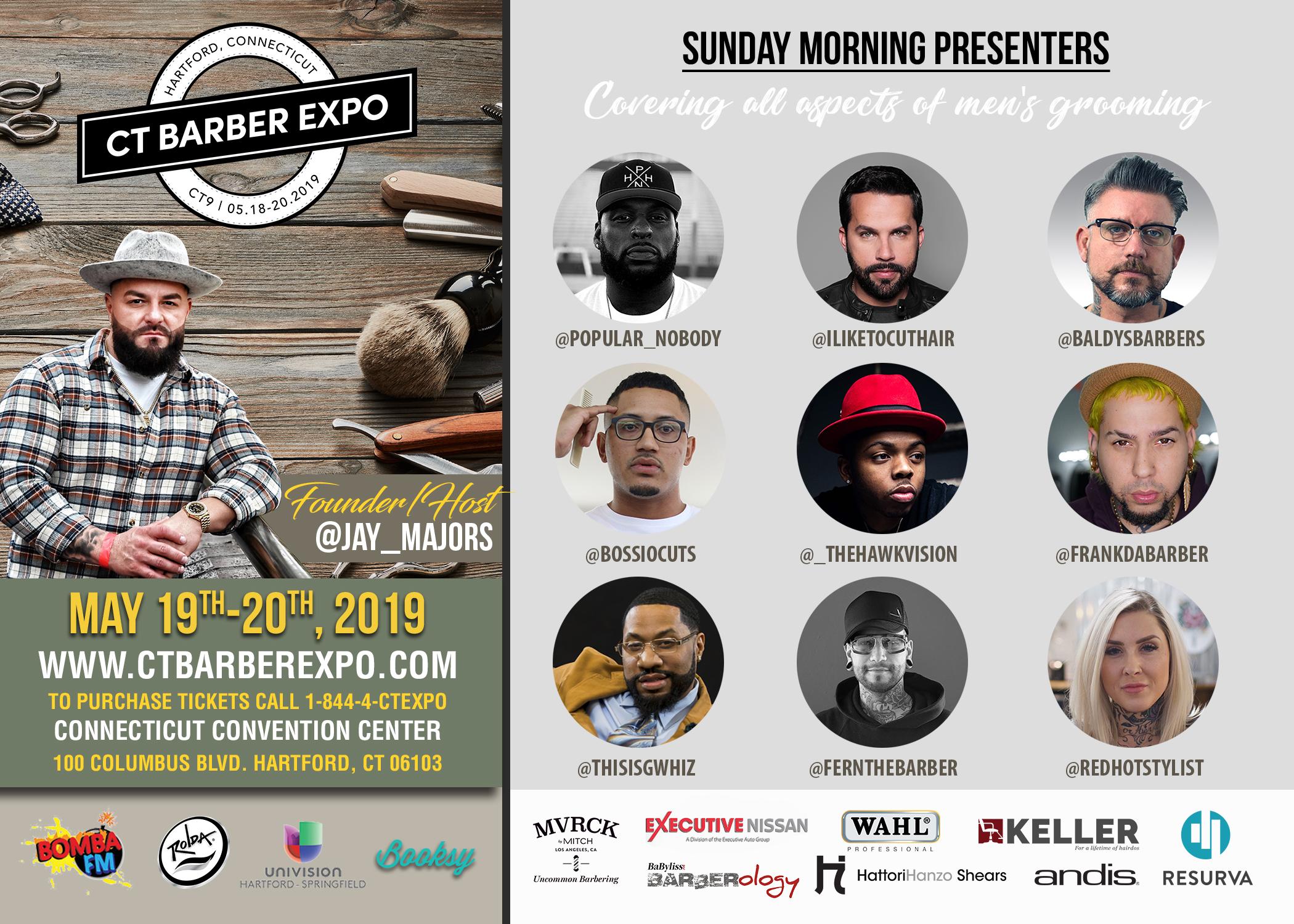 #BarberLove: CT Barber Expo May 18-20