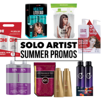 Solo Artist Retailing: CosmoProf Offers Liter Duo Promos for Summer