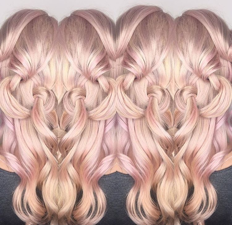 FORMULA: Pale Cotton Candy Pink