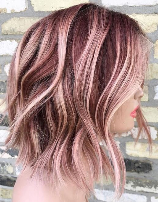 This gorgeous pink color was the most-liked photo on our Instagram for the week of 9/30-10/6. @hairbysaiphetkhosa