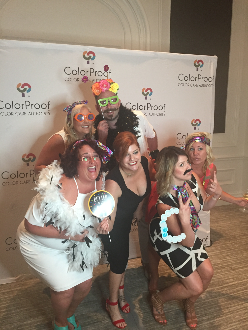 <p><em>The ColorProof Cocktail party kicks off Cosmoprof North America.  This year, ColorProof kicked it up a</em> <em>notch, offering photo booth fun, strolling magicians, caricature artists and, as per usual, food, drink and merry-making.</em></p>