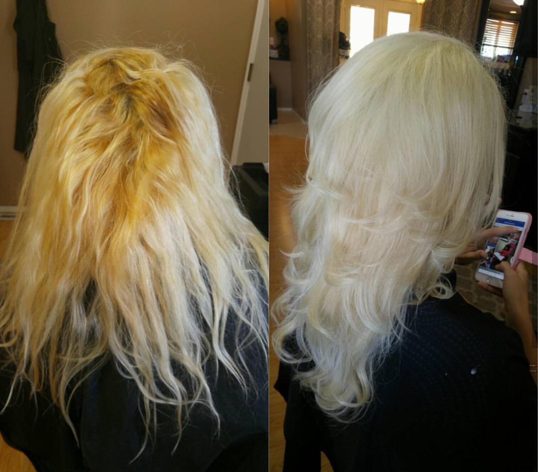 MAKEOVER: Gentle Repair For Broken Blonde