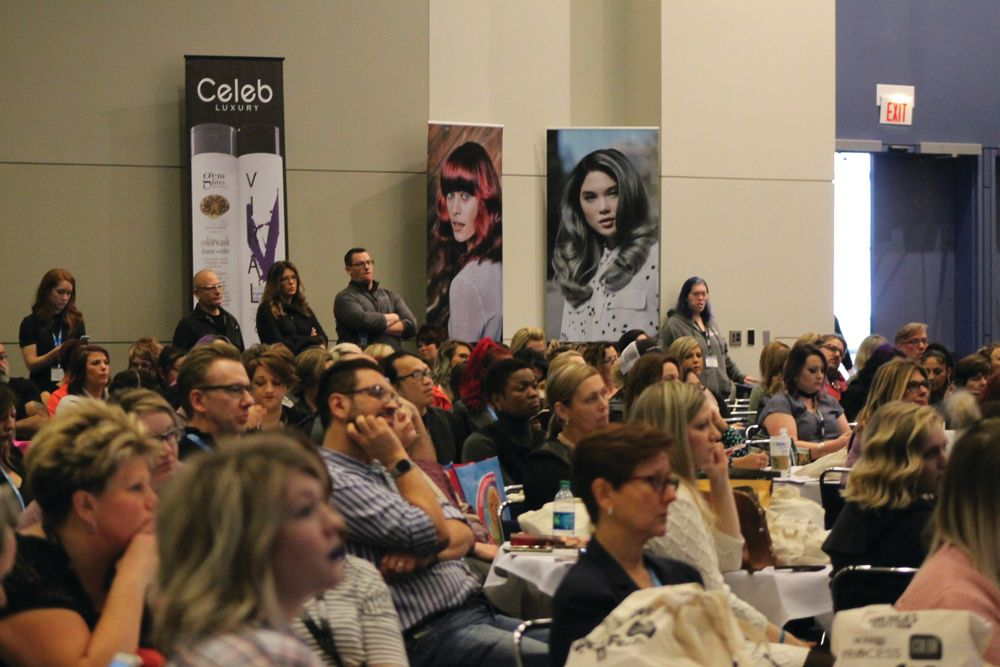 ColorFest kicks off to a full house of colorists eager for color inspiration, trends and education.