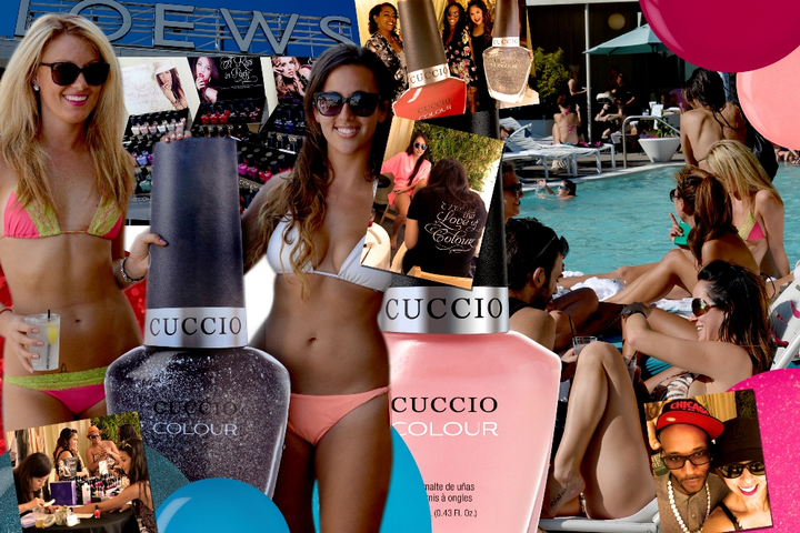 Cuccio Colour Goes Poolside in Hollywood