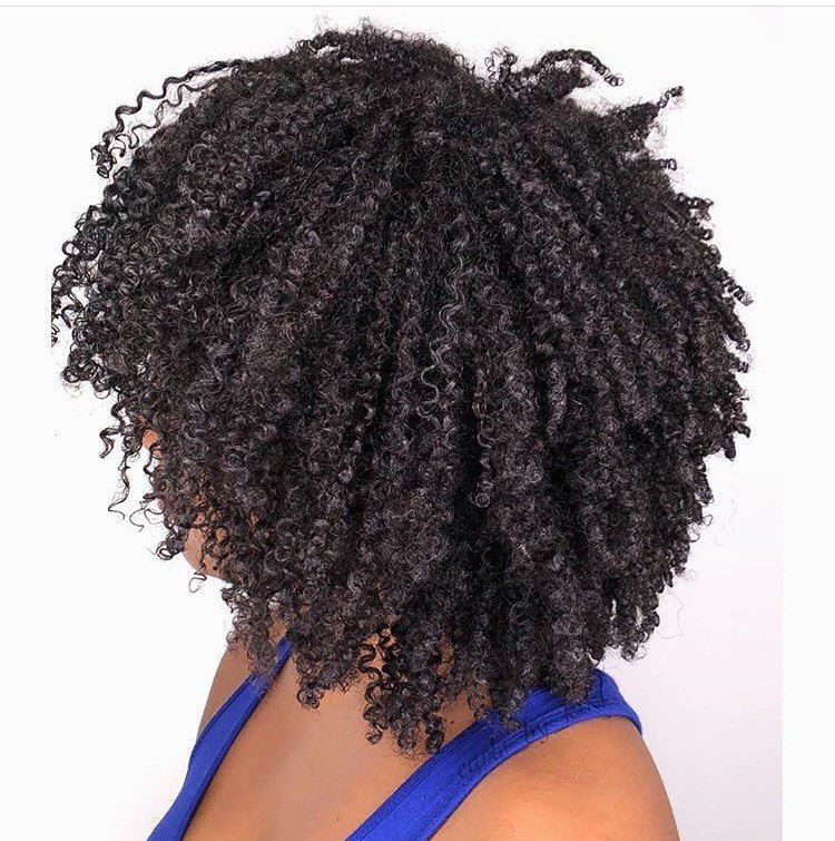 <p>We are obsessed with these healthy, bouncy curls!</p>