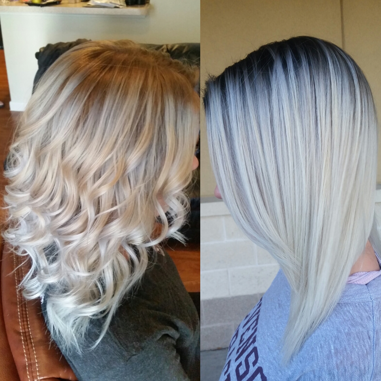 TRANSFORMATION: Nice Blonde To Rooty Icy Melt