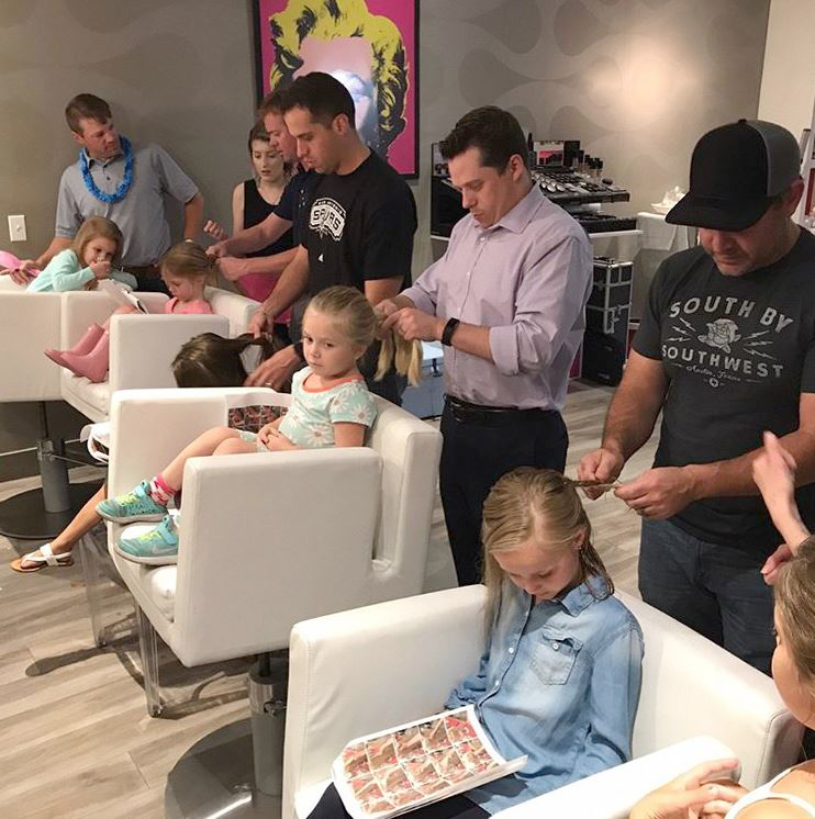 The First of its Kind - Daddy/Daughter Braiding Workshop Debut!
