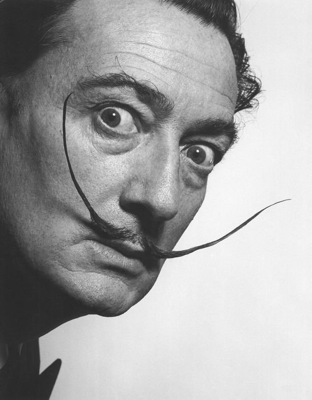 Salvador Dali published a book dedicated to his moustache.