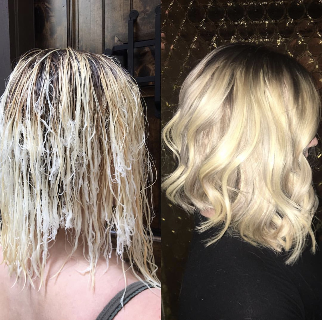 Total Hair Transformation: Melted Hair Saved by Well-Timed Hair Color, Treatments and Extensions