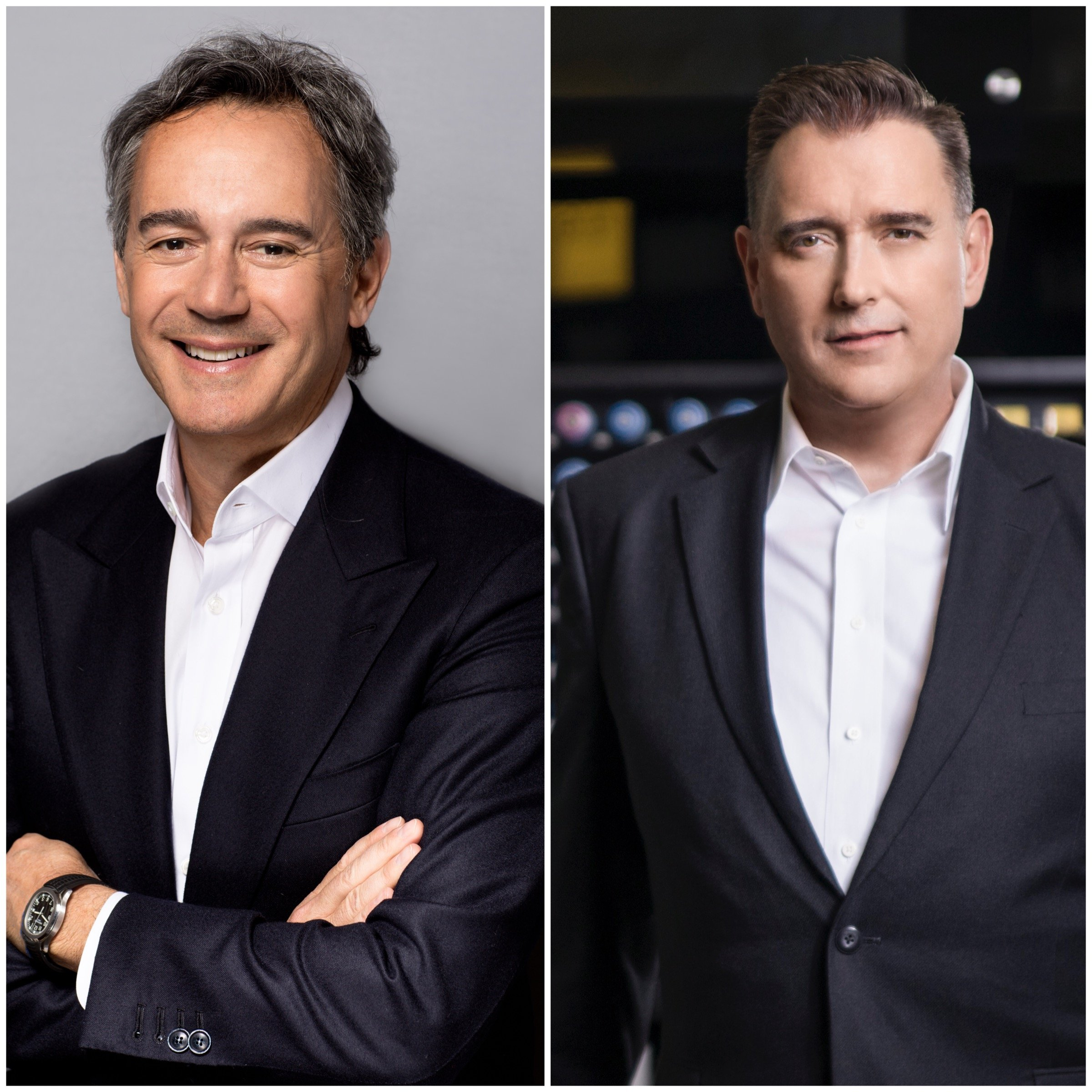 Left: Daniel Kaner, co-founder and current co-president of Oribe, will be named president of the newly acquired entity. Right: Cory Couts, Kao Salon Division global president.