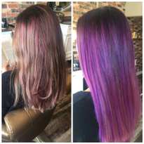 Balayage and Melting For a Vibrant Blend